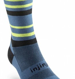 Injinji RUN Lightweight - Lichtgewicht teensokken - Crew - Atlantic