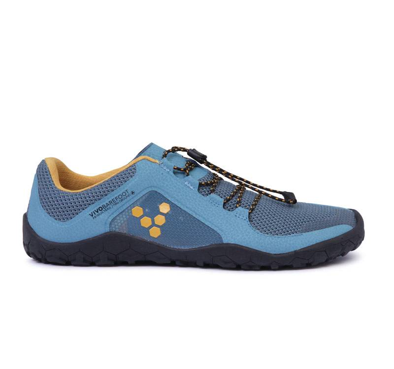 Vivobarefoot Primus Trail Firm Ground - Blue - Heren