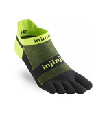 Injinji RUN Lightweight - Lichtgewicht teensokken - No Show - Grasshopper
