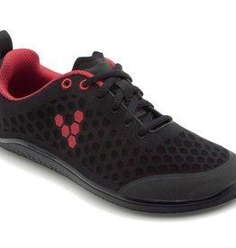 Vivobarefoot Stealth Black / Red - Dames
