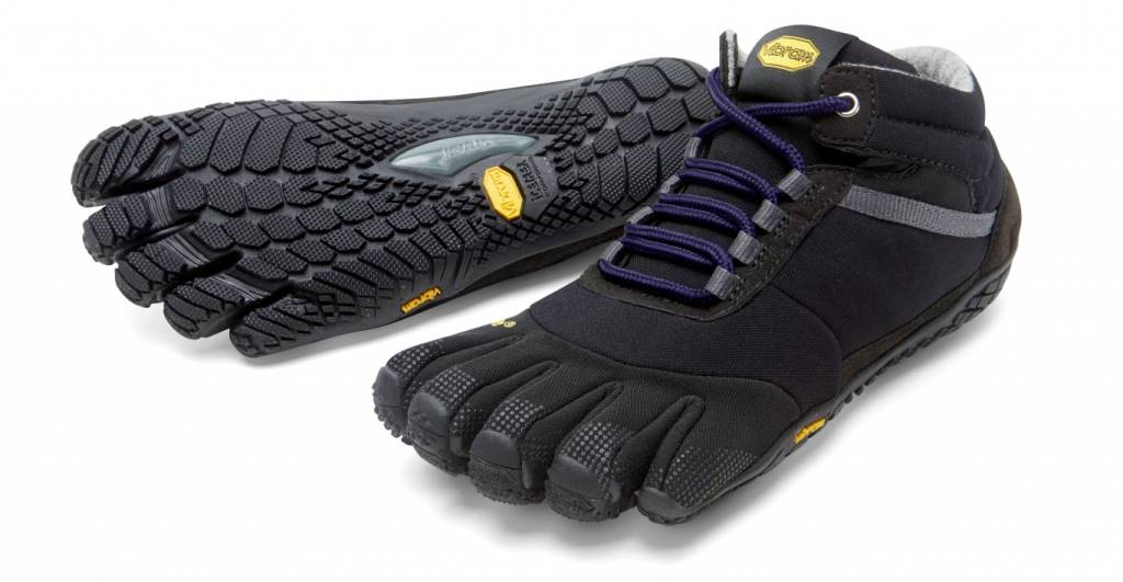Vibram FiveFingers Trek Ascent Insulated - Black / Purple