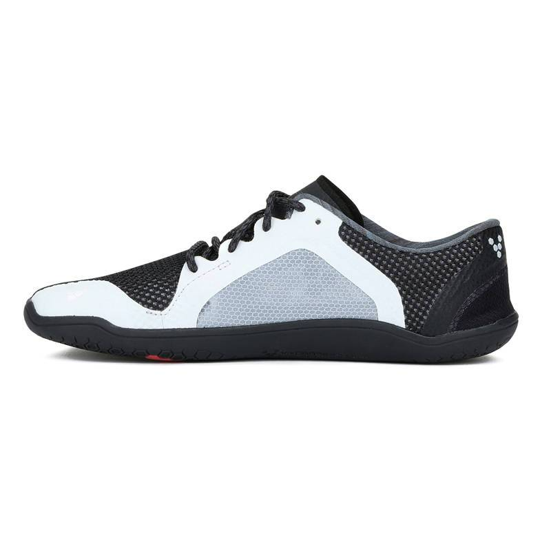 Vivobarefoot Primus Lite - Black/White - Heren