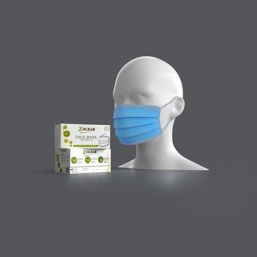 Chirurgisch Type IIR mondmasker - Zogear