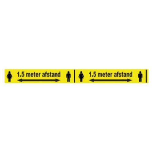 1,5 meter afstand sticker 2