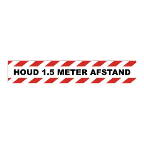 1,5 meter afstand sticker 4