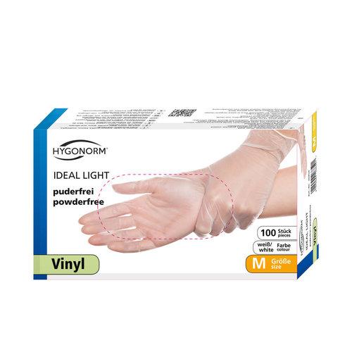 "Hygonorm Vinyl Handschoenen ""Ideal Light"""