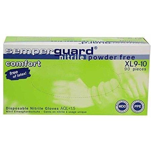 SemperGuard Nitril comfort handschoenen (90 stuks per doos) maat XL