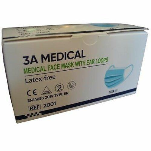 3A Medical - Chirurgisch Type IIR Mondkapje
