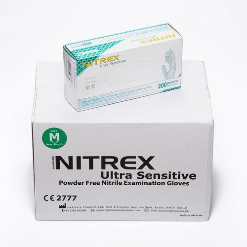Nitrex Ultra Sensitive handschoenen  200 stuks