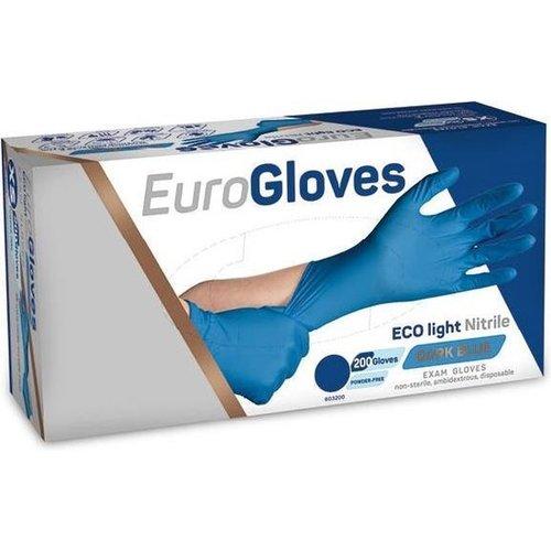 Eurogloves Eco Light blue handschoenen 200 stuks
