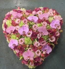 Rouwhart roze