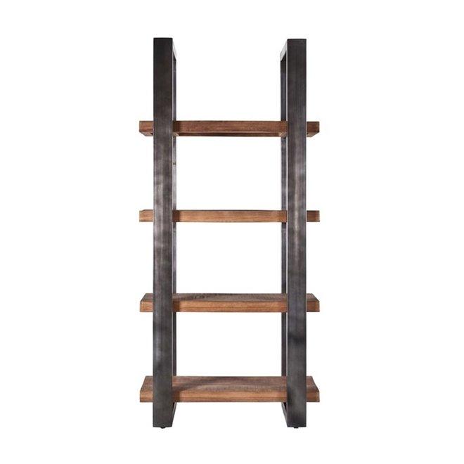 Boekenkast Mango 94 cm met metalen frame