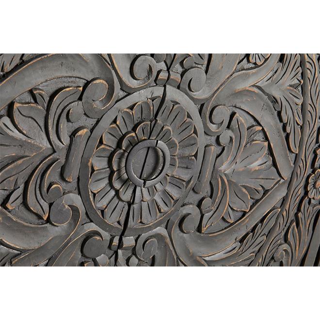 Kast houtsnijwerk - 2 deurs