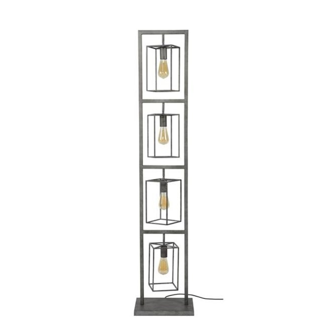 Vloerlamp Middelburg 4x kubus