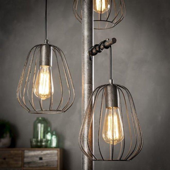 Vloerlamp Veldhoven 3 lampionnen