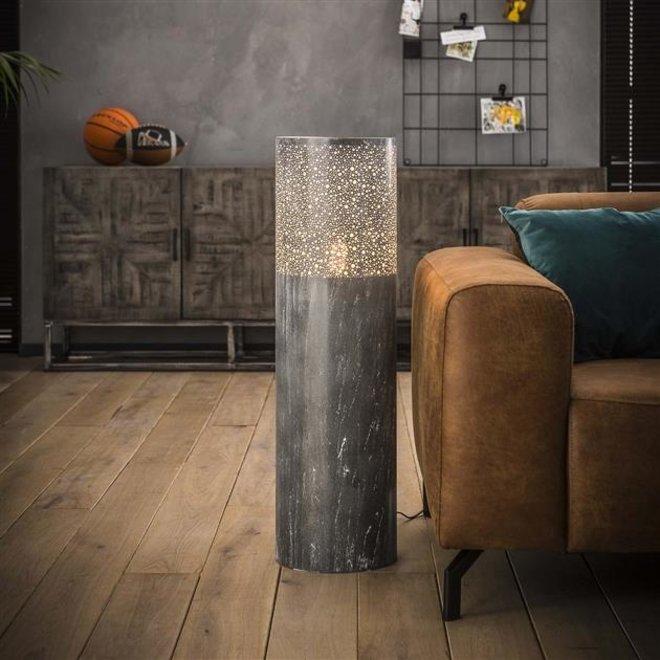 Vloerlamp Alkmaar Cilinder vloerlamp in 3 hoogtes 90cm