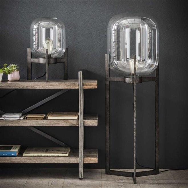 Vloerlamp Tilburg glas support