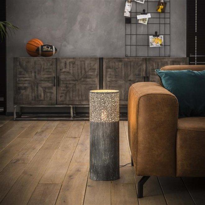 Vloerlamp Alkmaar Cilinder vloerlamp in 3 hoogtes 60cm