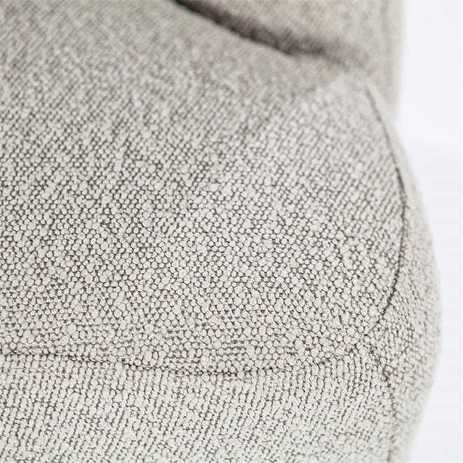 Fauteuil Charlotte -taupe  copenhagen  in teddy stof