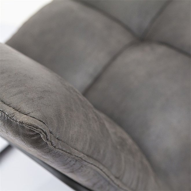 Fauteuil Ruby - antraciet topper