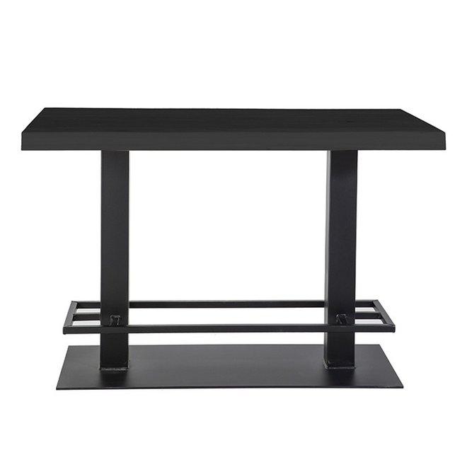 Countertafel - 140x80 zwart