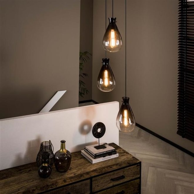 Hanglamp Deventer 3L shaded