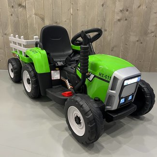 CarKiddo Kinder Tractor Met Aanhanger