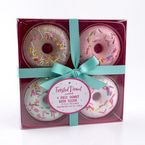 AC Badbruisbal frosted donut in geschenkverpakking