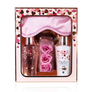 Heart Cascade Bad cadeaupakket Heart Cascade - Magnolia dream - Rosé/ roze/ wit