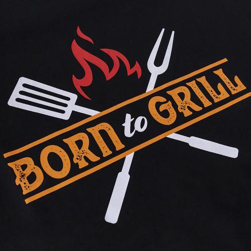 Men's Collection Stoer en mooi Barbecue cadeau met schort - Born to Grill - Berk & Cider