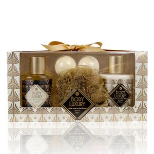 Body Luxury Body Luxury - Warm Vanilla & Lime Blossom - Badset