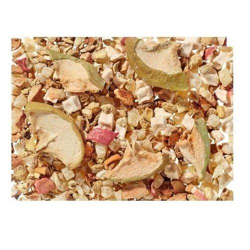 By Maroo Losse thee in glazen pot - Fruit thee blend Ginger Candy - Gember & Appel - Voor Theeliefhebbers - 140 gram