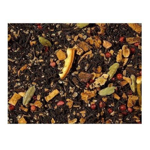 By Maroo Losse thee in glazen pot - Zwarte Thee Blend Sinaasappel & Cookies - Voor Theeliefhebbers - By Maroo - 90 gram