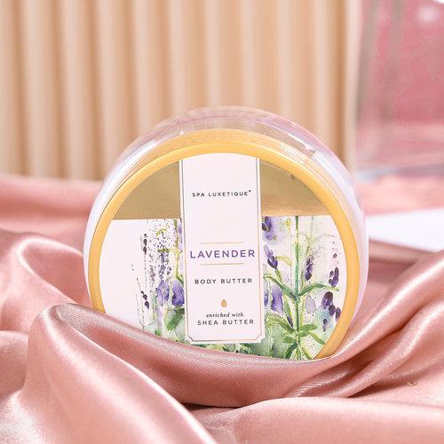 Spa Luxetique Geschenkset in zilveren badkuip - Lavendel Dream -  Cadeau vrouwen