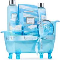 Geschenkset in blauwe badkuip - Ocean