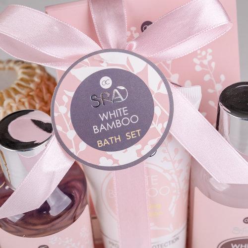 White Bamboo Bad cadeaupakket - White Bamboo - Thuis Spa