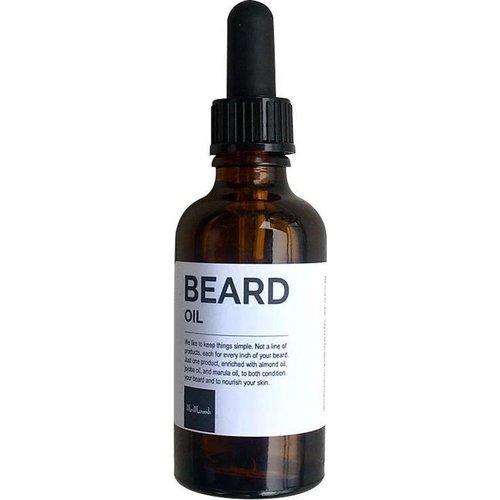 Mr Maroosh Mr Maroosh - Baardolie 50 ml - Voor de korte baard en de lange baard - Heerlijke Sandalwood geur