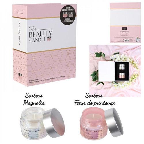 The Home Deco Factory Geurkaarsen cadeaupakket - The Beauty Candle - Luxe kaarsen
