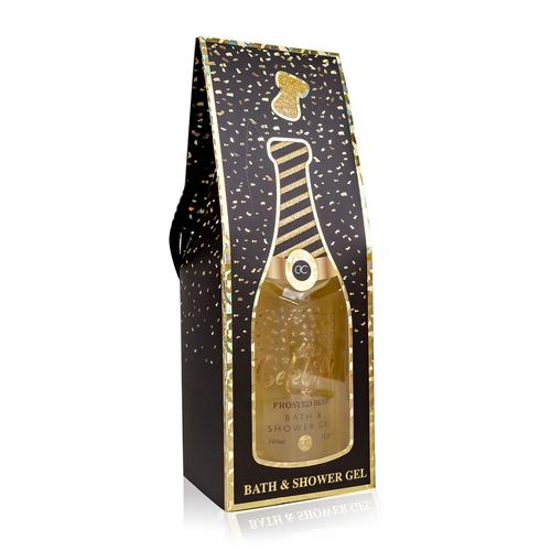 Let's Celebrate Grappig Champagne bad cadeau - Let's Celebrate - Goud Shimmer
