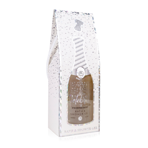 Let's Celebrate Grappig Champagne bad cadeau - Let's Celebrate - Wit & Zilver