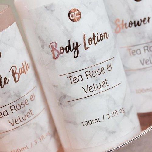Marble Bad cadeau in rose pump - Shine - Tea rose & Velvet