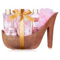 Badset in glitter pump Rose - Beautiful shine - Golden Jasmijn