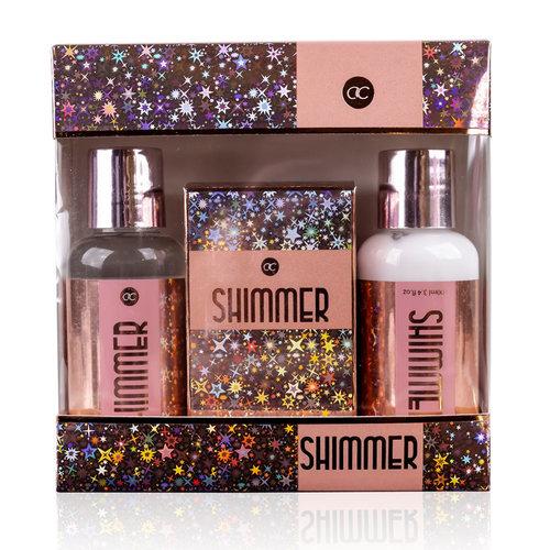 Shimmer Bad geschenkset - Shimmer - Granaatappel & Sheabutter