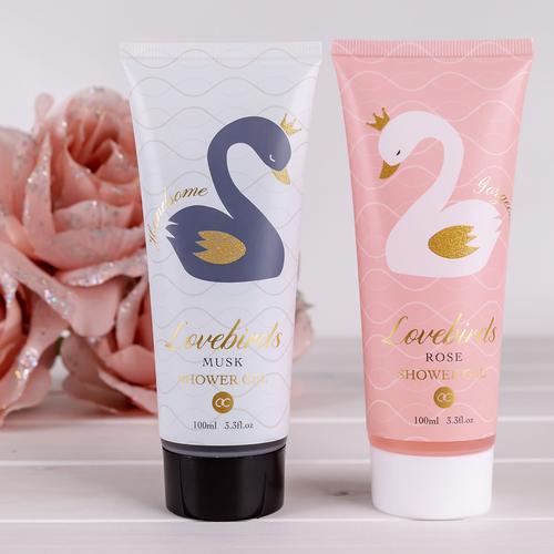 LoveBirds Romantisch bad cadeau - Love Birds - Rose & Musk