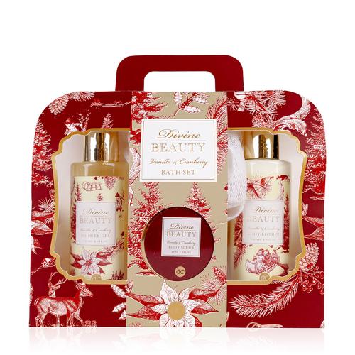 Divine Beauty Romantisch bad cadeau - Divine Beauty - Vanilla & Cranberry
