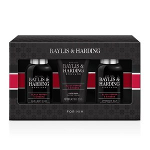 Baylis & Harding Bad cadeau mannen - Baylis & Harding - Black Pepper & Ginseng
