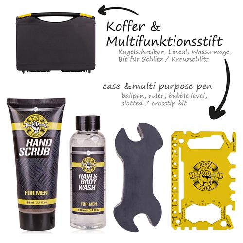 BATH & BODY TOOLS Leuk cadeau mannen - Gereedschapskoffer verzorgingsproducten - Bath & Body - Musk