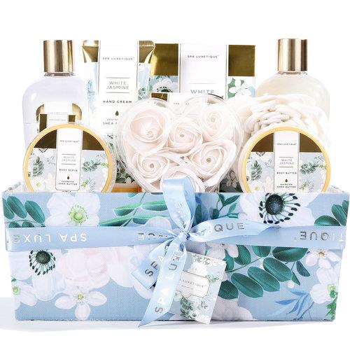 Spa Luxetique Grote bad cadeaumand verzorging - White Jasmine