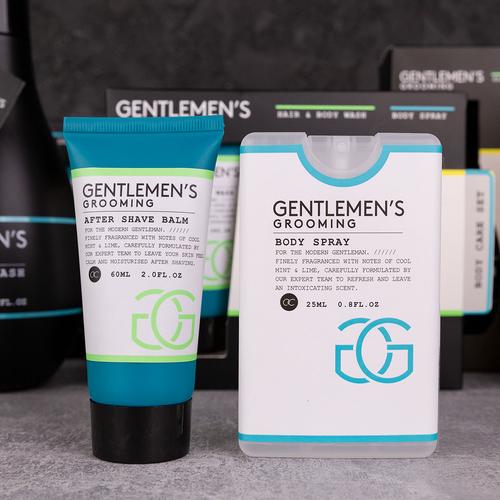 Gentlemen's Grooming Mannen cadeautje verzorging - Gentlemen's Grooming - Cool Mint & Lime - Cadeau voor vader