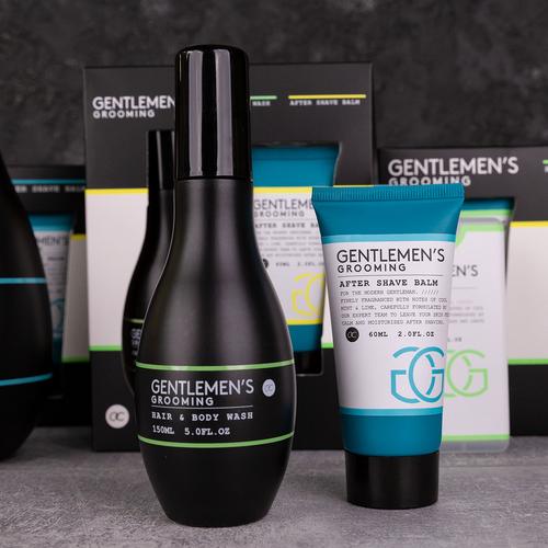 Gentlemen's Grooming Mannen cadeau set body - Gentlemen's Grooming - Cool Mint & Lime - Mooi cadeau voor hem